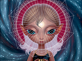Art Print by Ana Bagayan - Message From Inner Earth - Standard Edition