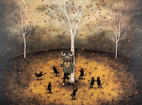 Art Print by Andy Kehoe - Revel In The Wild Joy