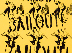 Art by Armando Chainsawhands - Bailout - Yellow Variant