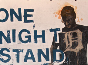 Original Art by Bask - -One Night Stand Detroit-