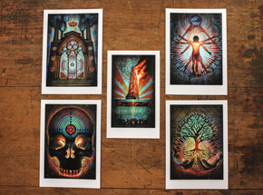 Art by Beau Stanton - Arcane Archetypes Print Set
