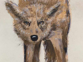 Art Print by Becca Midwood - Wolfie
