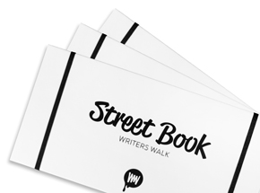 Book by Benjamin Legan - Street Book: Writers Walk