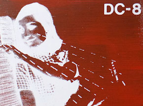 Art by Bethany Shorb - DC8 VIII - White On Red