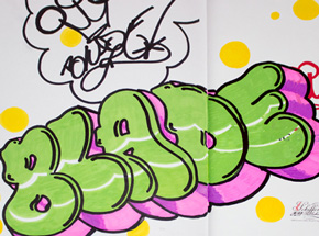 Book by Blade - King Of Graffiti - 08