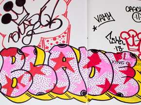 Book by Blade - King Of Graffiti - 10