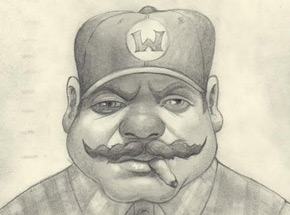 Original Art by Bob Dob - Mug Shot Wario