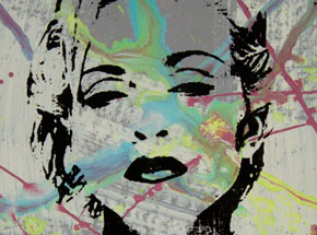Art by Bobby Hill - Madonna - 02