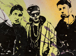 Art by Bobby Hill - Beastie Boys