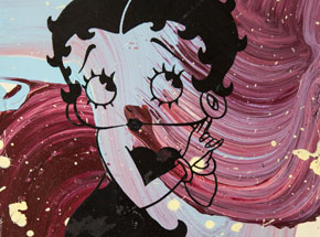 Art by Bobby Hill - Betty Boop