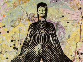 Art by Bobby Hill - David Bowie IV - 24 x 36 Edition