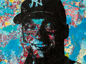 Art by Bobby Hill - Derek Jeter