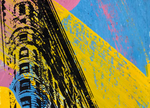 Art by Bobby Hill - Flatiron Building NYC At An Angle