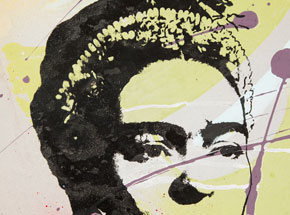 Art by Bobby Hill - Frida II - 9 x 12 Edition