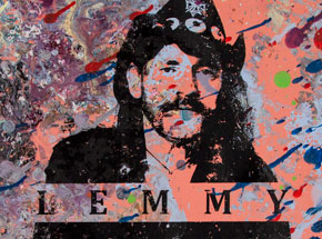 Art by Bobby Hill - Lemmy