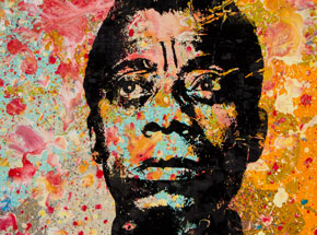 Art by Bobby Hill - James Baldwin