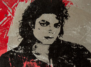 Art by Bobby Hill - MIchael Jackson (Bad)