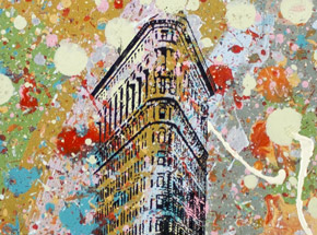 Art by Bobby Hill - Flatiron Building NYC