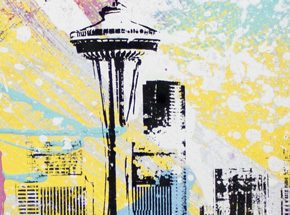 Art by Bobby Hill - Seattle Needle 01