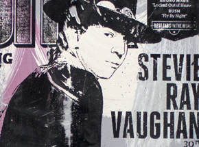 Art by Bobby Hill - Stevie Ray Vaughan