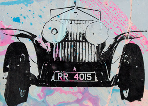 Art by Bobby Hill - Vintage Rolls Royce
