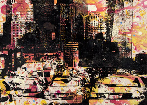 Art by Bobby Hill - WTC / Freedom Tower / Times Square Going