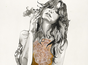 Art Print by Brandon Boyd - Heart Of Gold - Limited Edition Prints