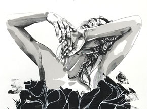 Hand-painted Multiple by Brandon Boyd - Lauren In Transit - Hand-Painted Multiple 09