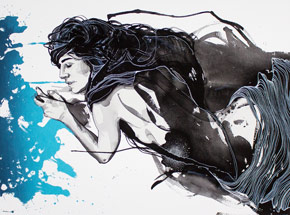 Art Print by Brandon Boyd - This Way Comes