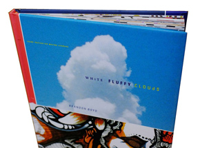 Book by Brandon Boyd - White Fluffy Clouds