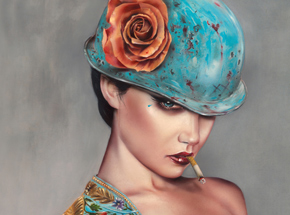 Art Print by Brian Viveros - El Champion