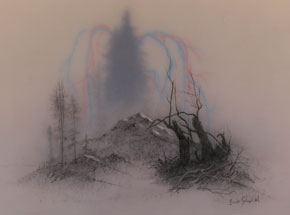Original Art by Brook Salzwedel - Tree To Land To Blood