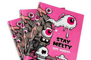 Book by Buff Monster - Buff Monster: Stay Melty