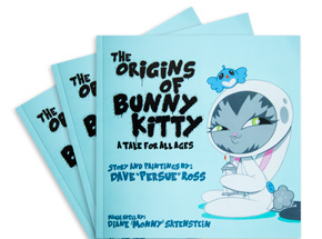 Art by Persue - The Origins of Bunny Kitty - Unsigned Book