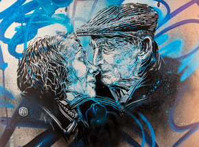 Art Print by C215 - Forever