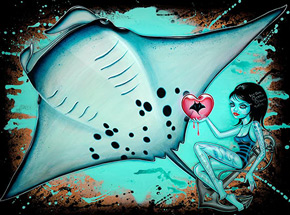 Art by Caia Koopman - May Mantas Thrive