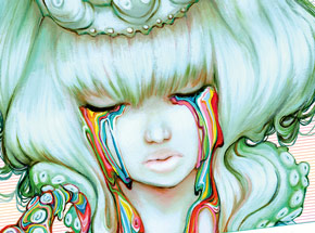 Book by Camilla d'Errico - Rainbow Children: The Art Of Camilla d'Errico Vol. 3 Hand-Signed Artbook