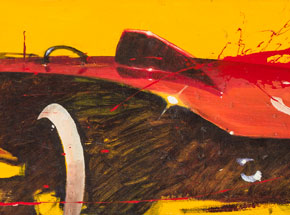 Original Art by Camilo Pardo - Rat Rod Roxy
