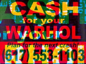 Art Print by Cash For Your Warhol - CFYW Next Crash - Limited Edition Prints