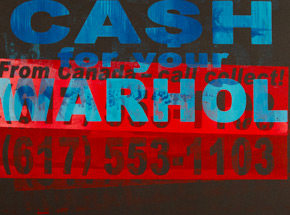 Art Print by Cash For Your Warhol - CFYW Call Collect - Printer Select 1/5