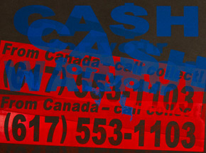 Art Print by Cash For Your Warhol - CFYW Call Collect - Printer Select 2/5
