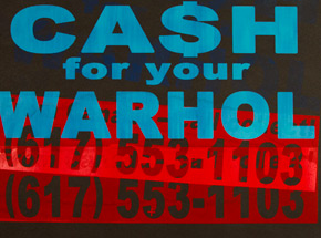 Art Print by Cash For Your Warhol - CFYW Call Collect - Printer Select 3/5