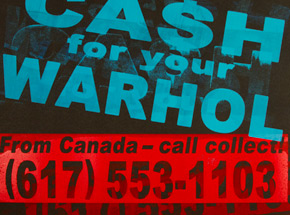 Art Print by Cash For Your Warhol - CFYW Call Collect - Printer Select 4/5