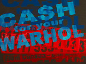Art Print by Cash For Your Warhol - CFYW Call Collect - Printer Select 5/5