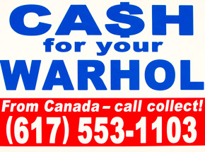 Art Print by Cash For Your Warhol - CFYW Call Collect - Standard Edition