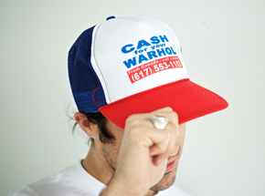 Art by 1xRUN Presents - Cash For Your Warhol - Trucker Hat