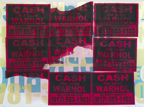 Art by Cash For Your Warhol - CFYW - Se Habla Espanol