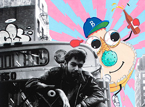 Art Print by Ces - Cookiepussed - From My First Beastie Boys Shoot. May. 1986. NYC.