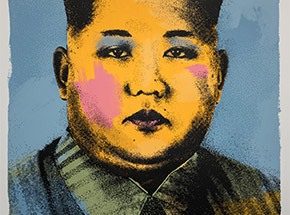 Art Print by Cash For Your Warhol - CFYW Kim Jong-un - Limited Edition Prints