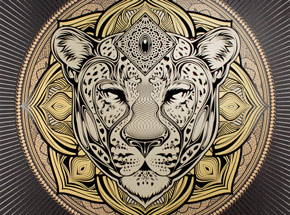 Art Print by Chris Saunders - Jag Mandala